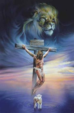 Crucifixion-lion-and-lamb-graphic